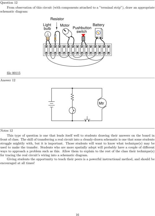 small resolution of the skill of transferring a real circuit into a cleanly drawn schematic is one that