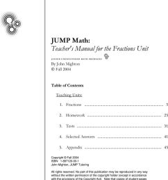 JUMP Math: Teacher's Manual for the Fractions Unit - PDF Free Download [ 1370 x 960 Pixel ]