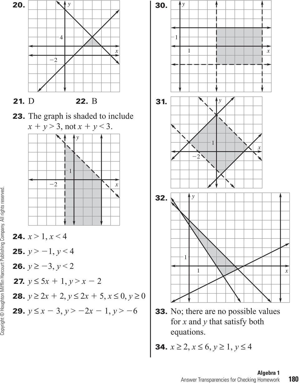 6 5 Practice Applying Systems Of Linear Equations Page 33