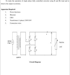 connection wires circuit diagram 8 the output waveforms apparatus required 1 power thyristors 2  [ 960 x 1182 Pixel ]