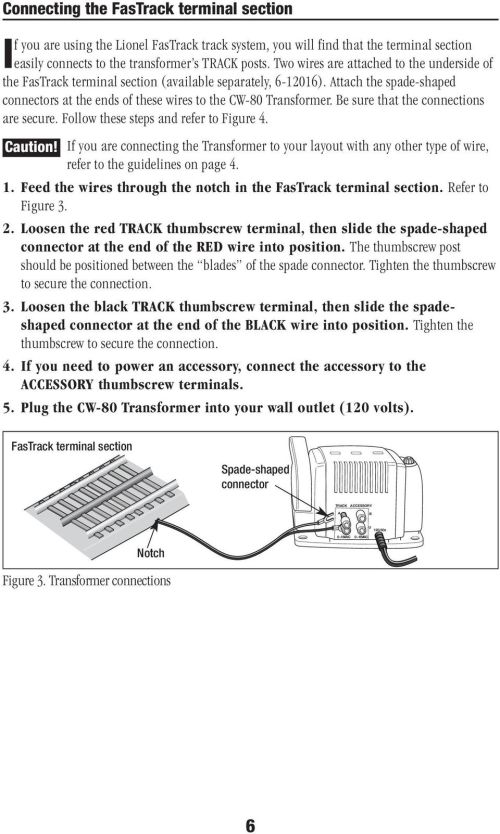 small resolution of lionel cw 80 transformer owner s manual pdf on lionel fastrack wiring zw wiring diagram