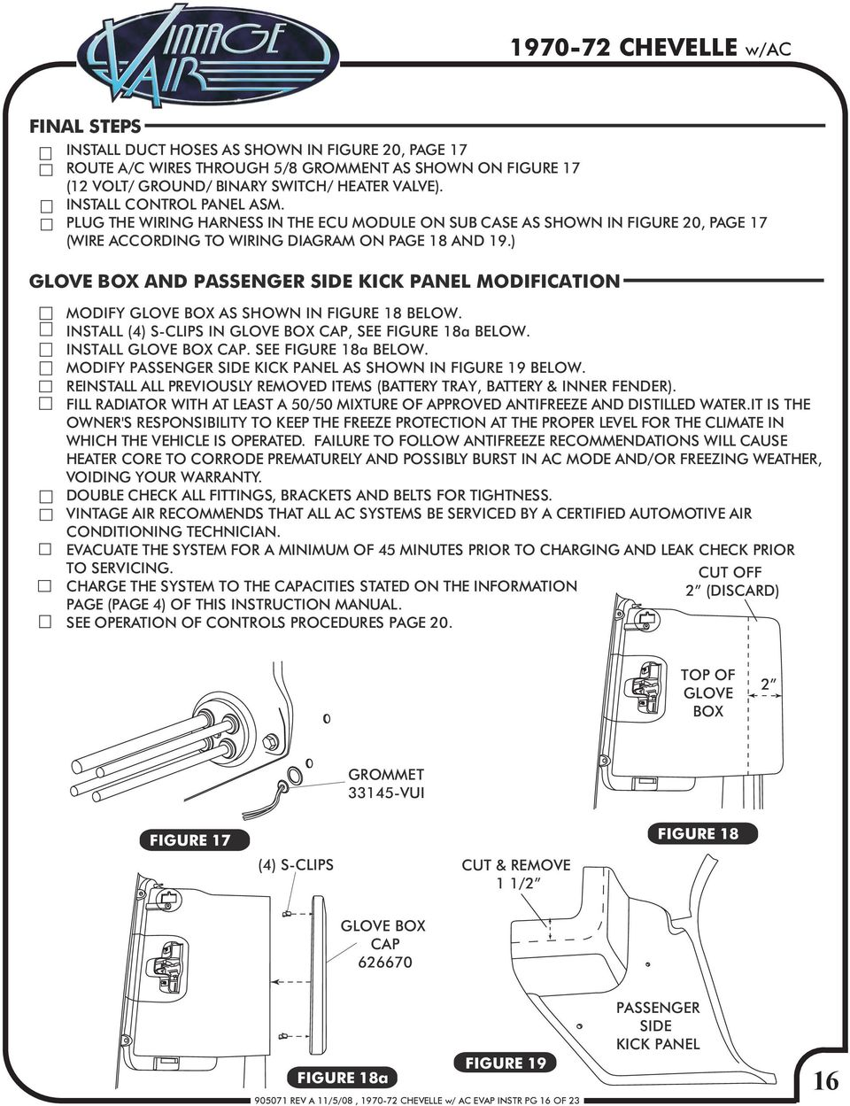 medium resolution of glove box and passenger side kick panel modification modify glove box as shown in figure