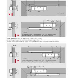dorma ts 93 b door closer with dorma g 93 n slide channel assembly door [ 960 x 1372 Pixel ]