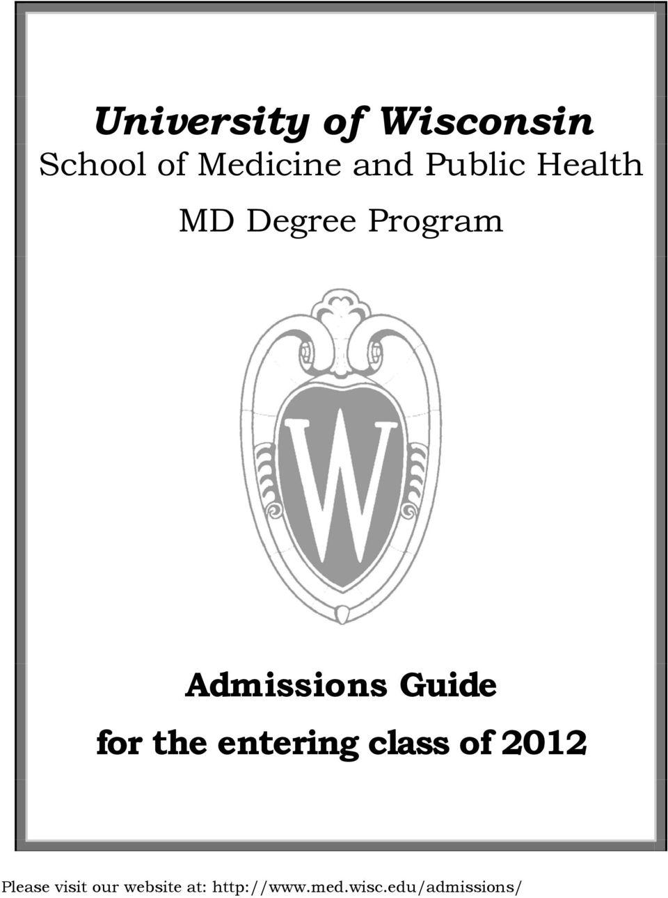 University of Wisconsin School of Medicine and Public