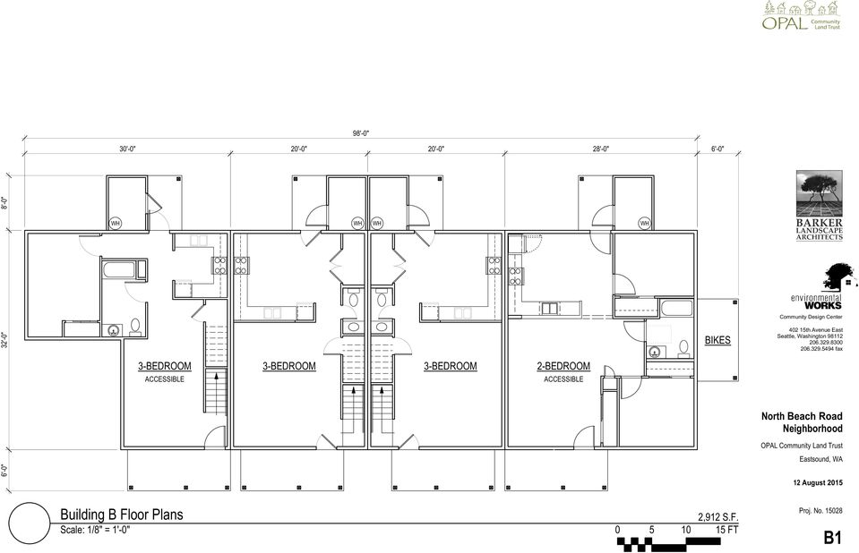 """Site Plan & Section Scale: 1"""" = 50 Ft"""