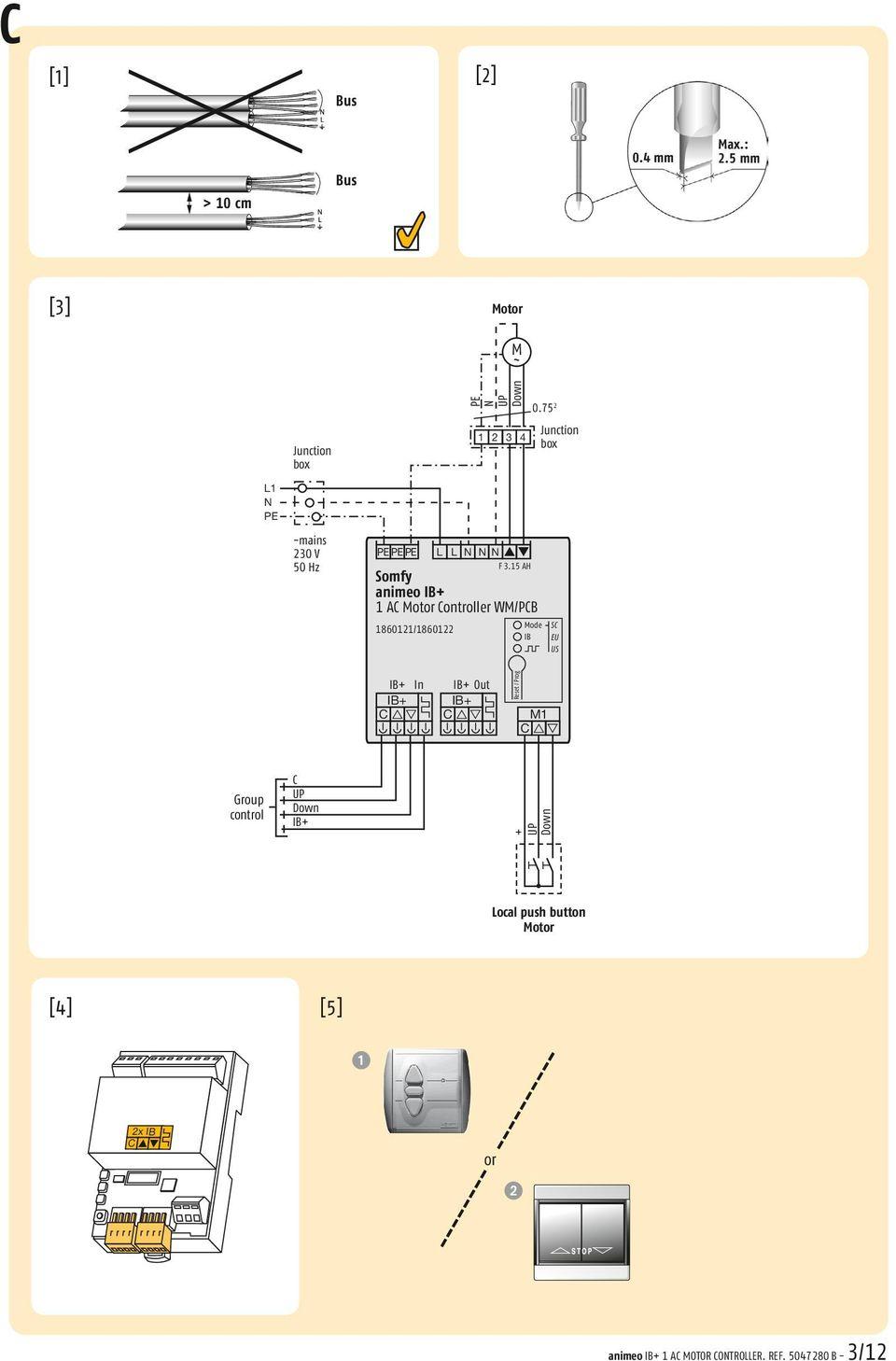 medium resolution of 75 2 junction 2 3 4 box n up down pe pe pe l l n n n f 3