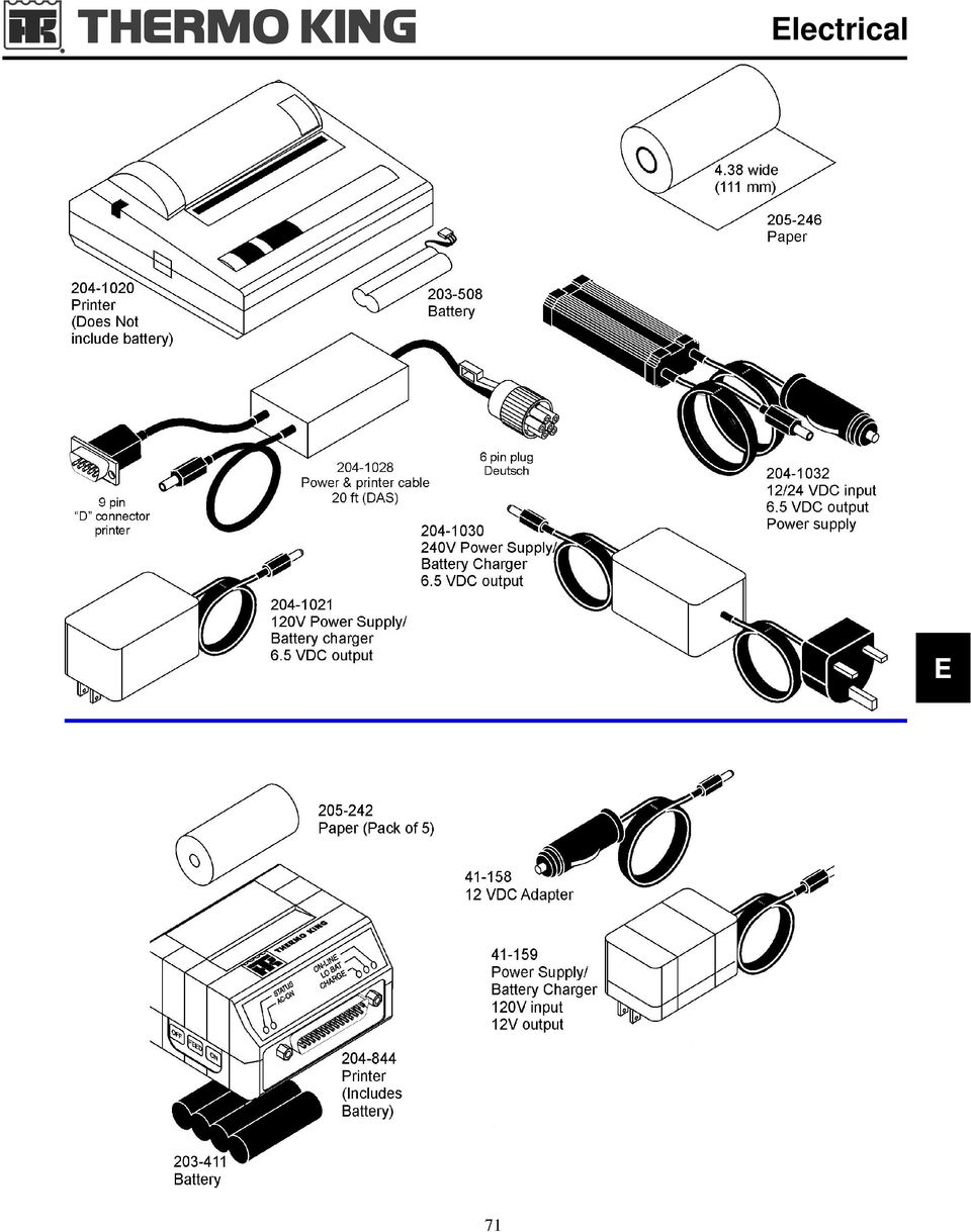 hight resolution of 13 electrical data cables for accutrac part no description item cable communications to computer pin d note data cables are black printer cables are