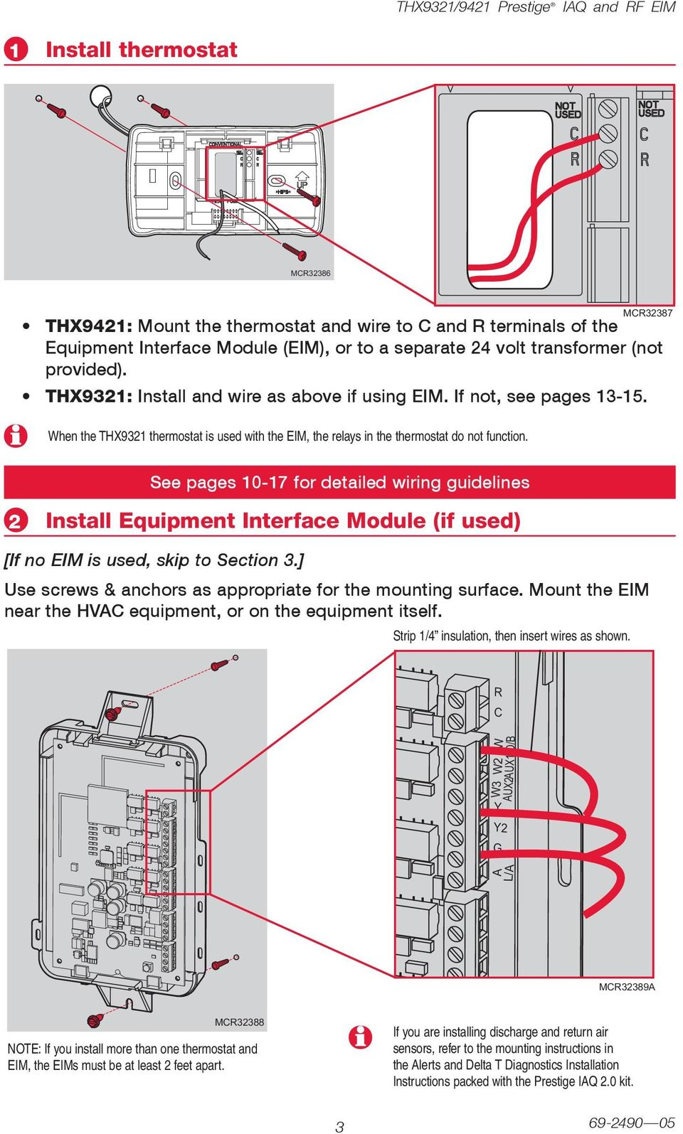 medium resolution of m87 see pages 0 7 for detailed wiring guidelines install equipment interface module if