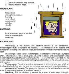 Weather Map Symbols Worksheet - Worksheet List [ 1320 x 960 Pixel ]