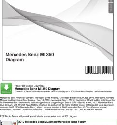 mercedes c230 fuse diagram sep 8 2010 leased a new 2007 cls 63 amg with 19  [ 960 x 1336 Pixel ]