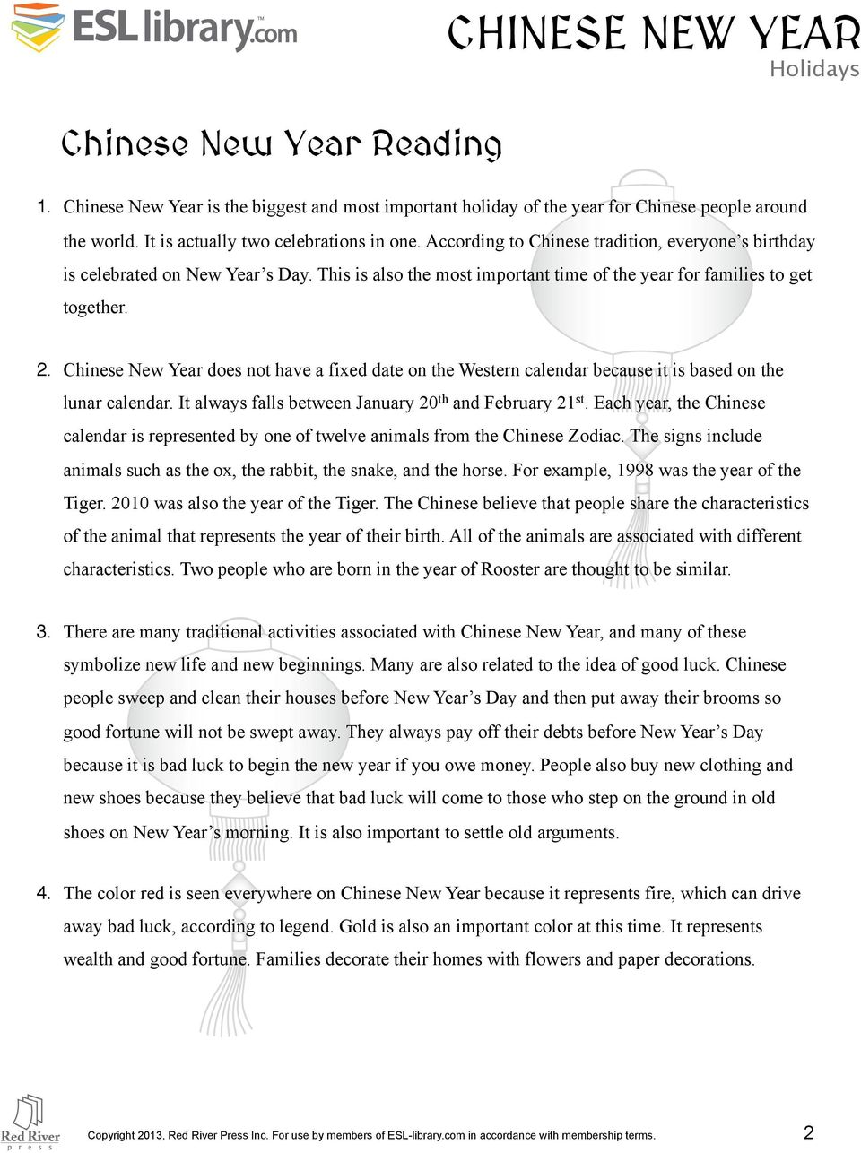 hight resolution of INTERMEDIATE LEVEL CHINESE NEW YEAR LESSON PLAN - PDF Free Download