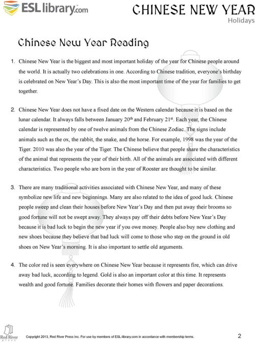 small resolution of INTERMEDIATE LEVEL CHINESE NEW YEAR LESSON PLAN - PDF Free Download