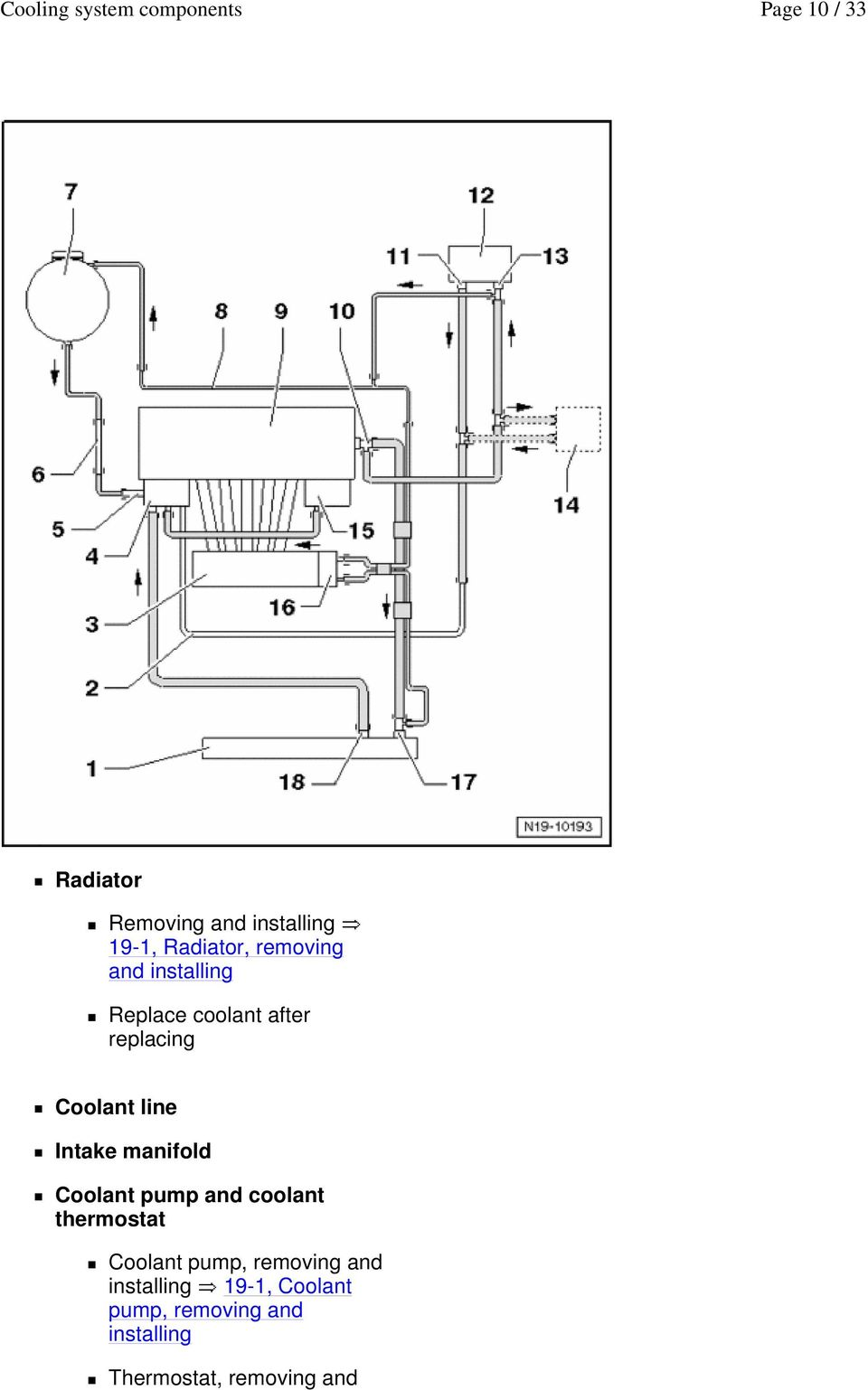 hight resolution of manifold coolant pump and coolant thermostat coolant pump removing and