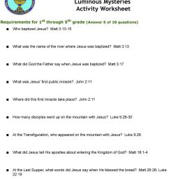 These Worksheets Can be Used Individually or for Group Instruction.  Worksheets are Broken Out by Ages or Grades if Appropriate - PDF Free  Download [ 1305 x 960 Pixel ]