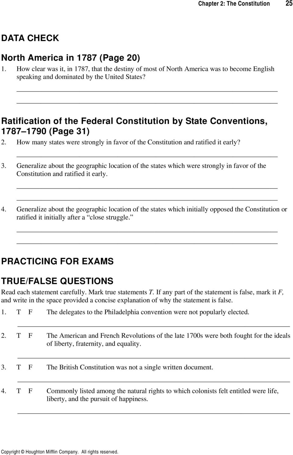 hight resolution of The Constitution CHAPTER 2 REVIEWING THE CHAPTER CHAPTER FOCUS - PDF Free  Download