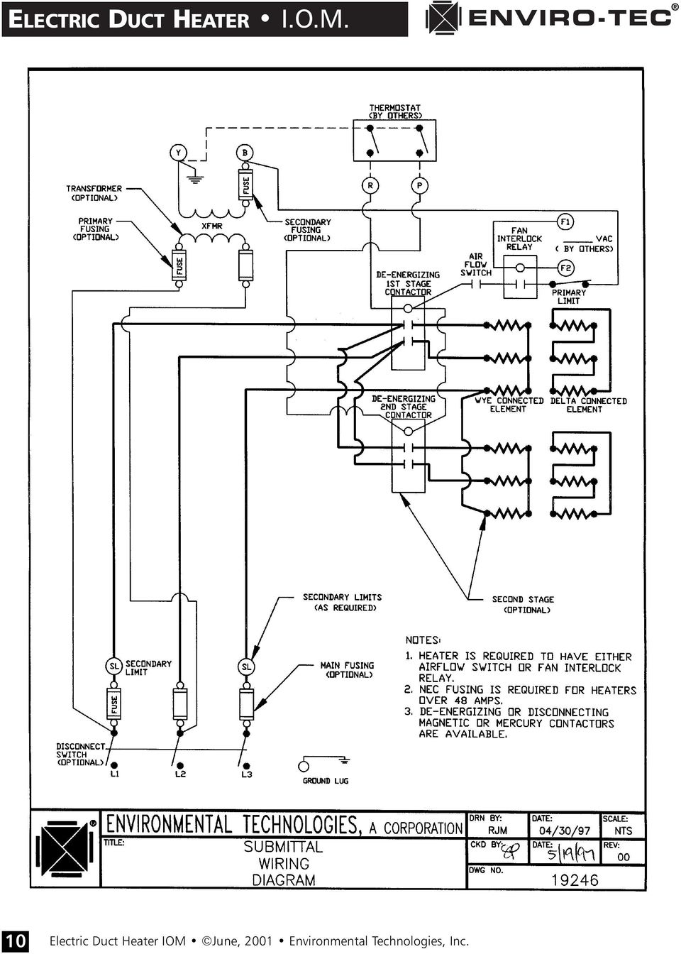 medium resolution of electric duct heater wiring diagram