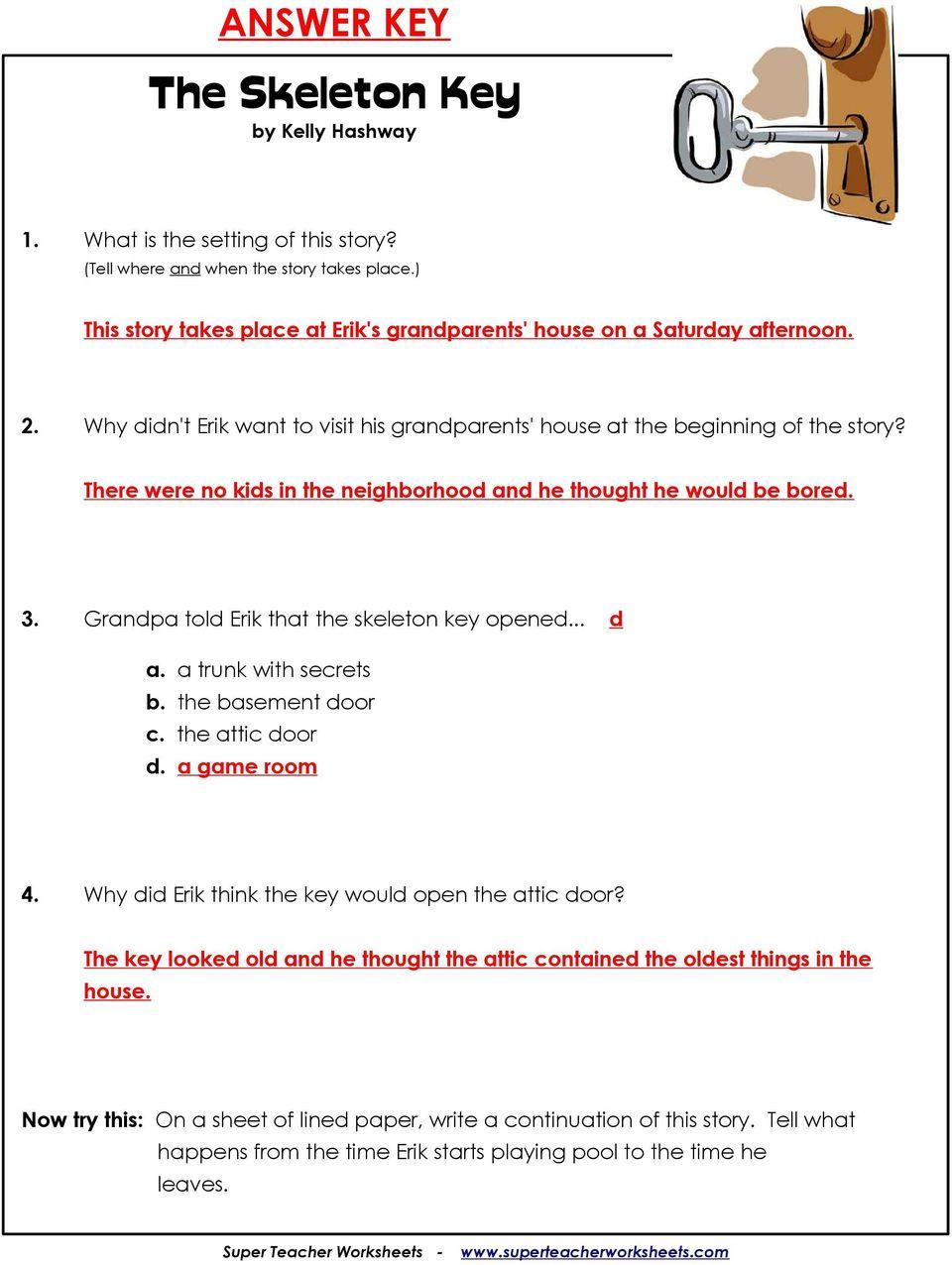 medium resolution of The Skeleton Key by Kelly Hashway - PDF Free Download