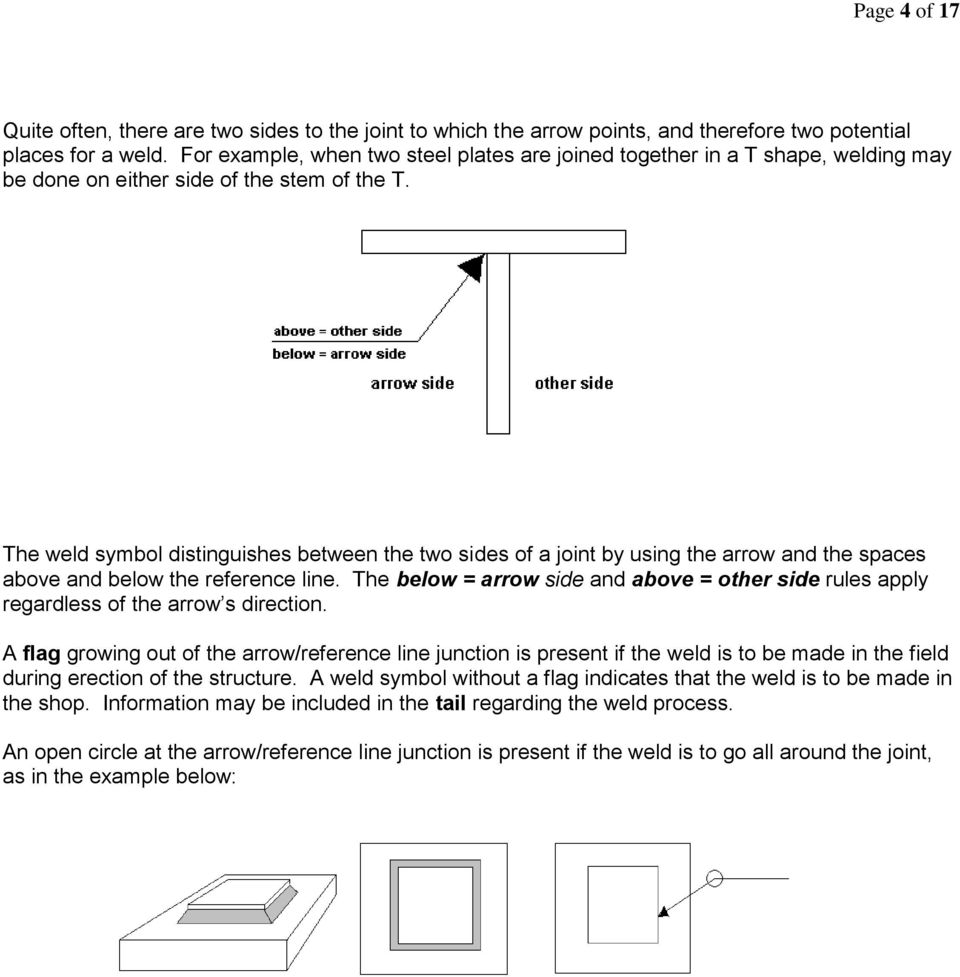 medium resolution of  bevel fillet weld symbol field acceptance of field welding guide
