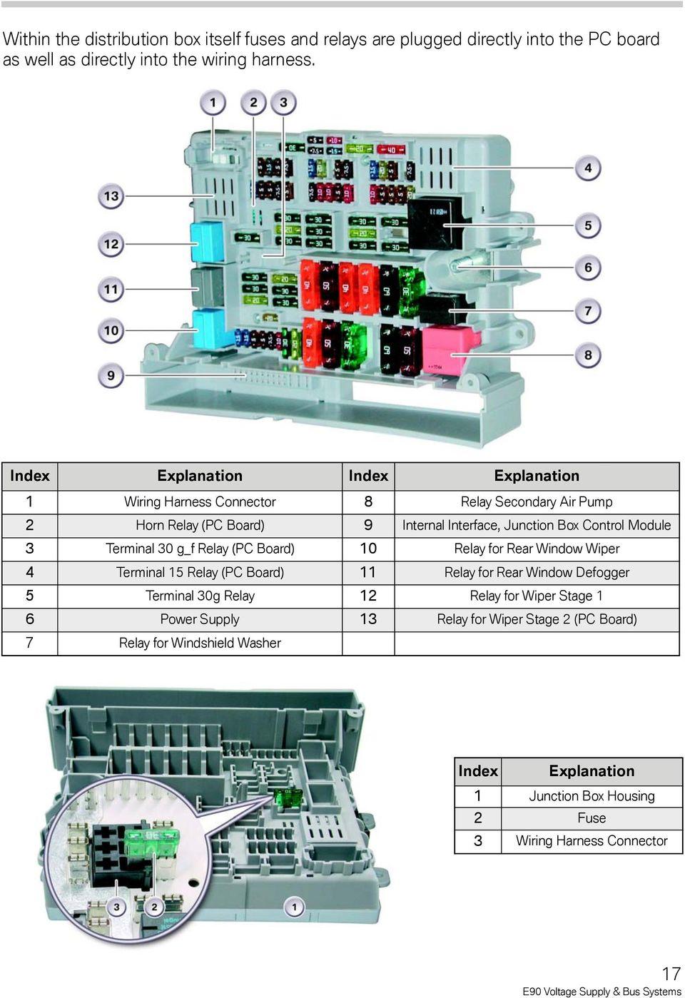 medium resolution of module 3 terminal 30 g f relay pc board 10 relay for rear window wiper