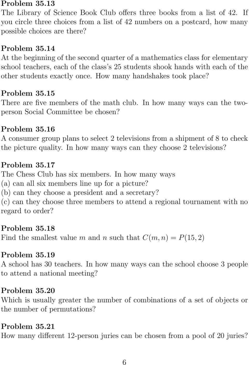 hight resolution of 35 Permutations