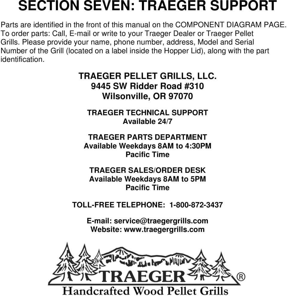hight resolution of owner s manual bbq070 pdf lil tex traeger parts diagram please provide your name