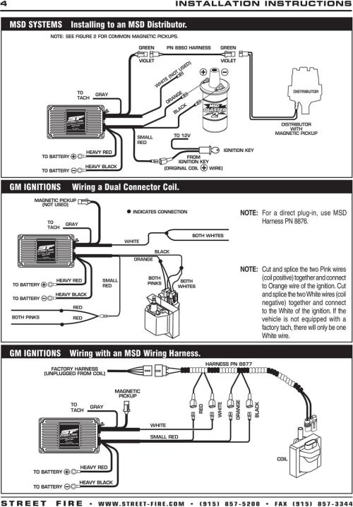 small resolution of msd 5520 ignition wiring diagram wiring library msd ignition 6a 6200 msd 6a wiring