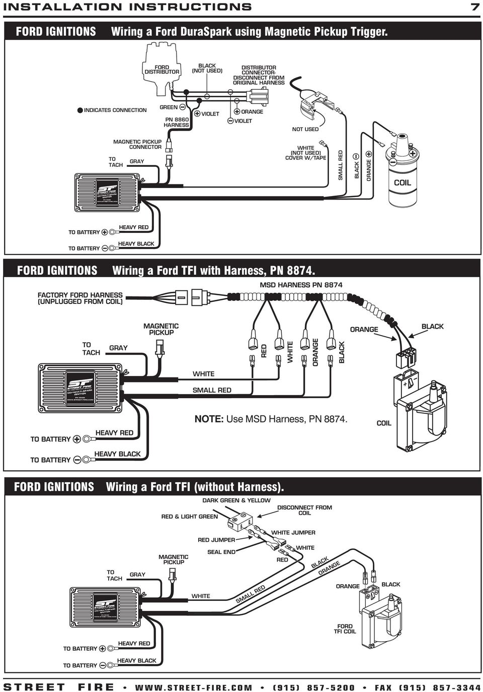 medium resolution of msd 5520 ignition wiring diagram msd ignition diagram ford duraspark ignition system ford duraspark ignition system