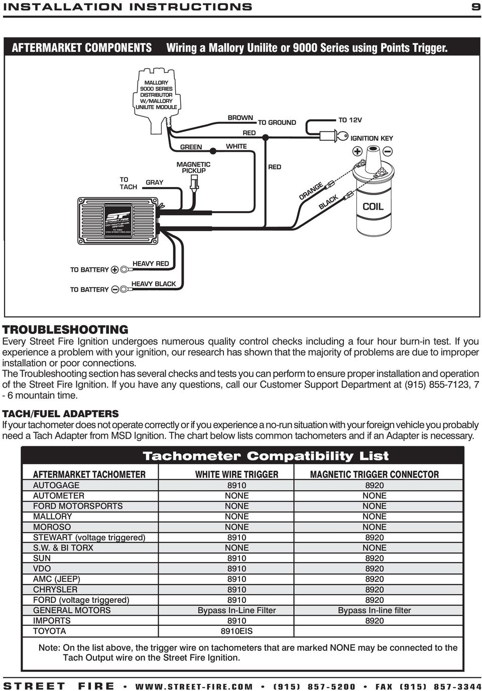 medium resolution of streetfire 5520 wiring diagram wiring diagram show msd 5520 ignition wiring diagram