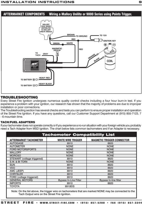 small resolution of streetfire 5520 wiring diagram wiring diagram show msd 5520 ignition wiring diagram