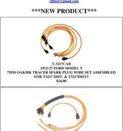 diagram model t ford model t 9mm oak spark plug wires 13 00 t ford model t  [ 960 x 1665 Pixel ]