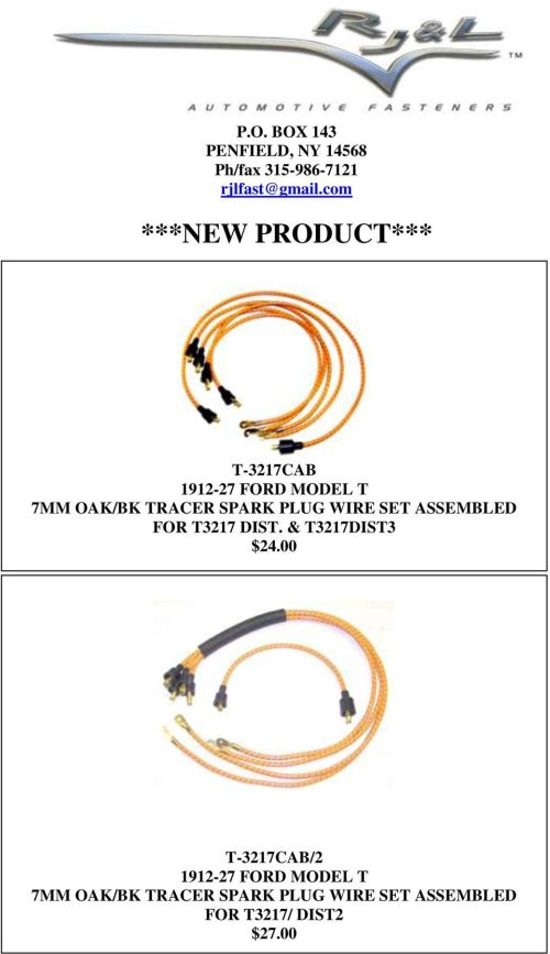 small resolution of  diagram model t ford model t 9mm oak spark plug wires 13 00 t ford model t