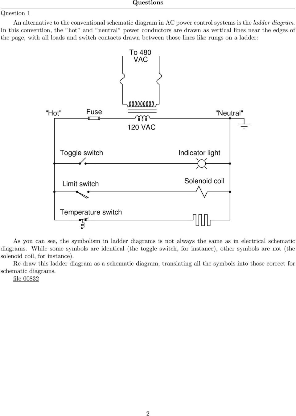 medium resolution of to 480 vac hot fuse neutral 120 vac toggle switch indicator light