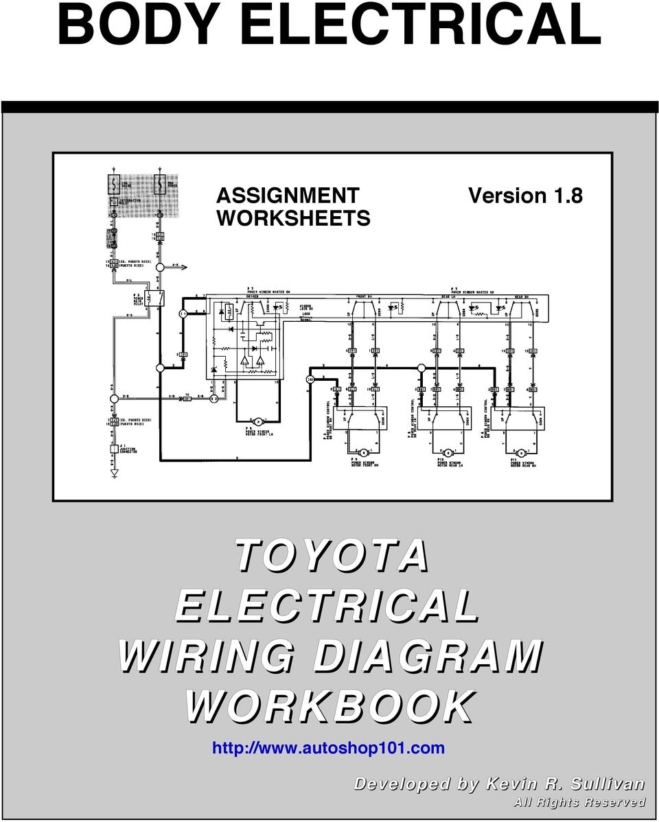 toyota electrical wiring diagram Toyota Electrical Wiring Diagram toyota wire diagram toyota electrical wiring diagram