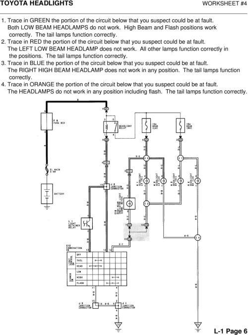 small resolution of toyota electrical wiring diagram workbook wiring schematic diagrambody electrical toyota electrical wiring diagram workbook 1999 toyota