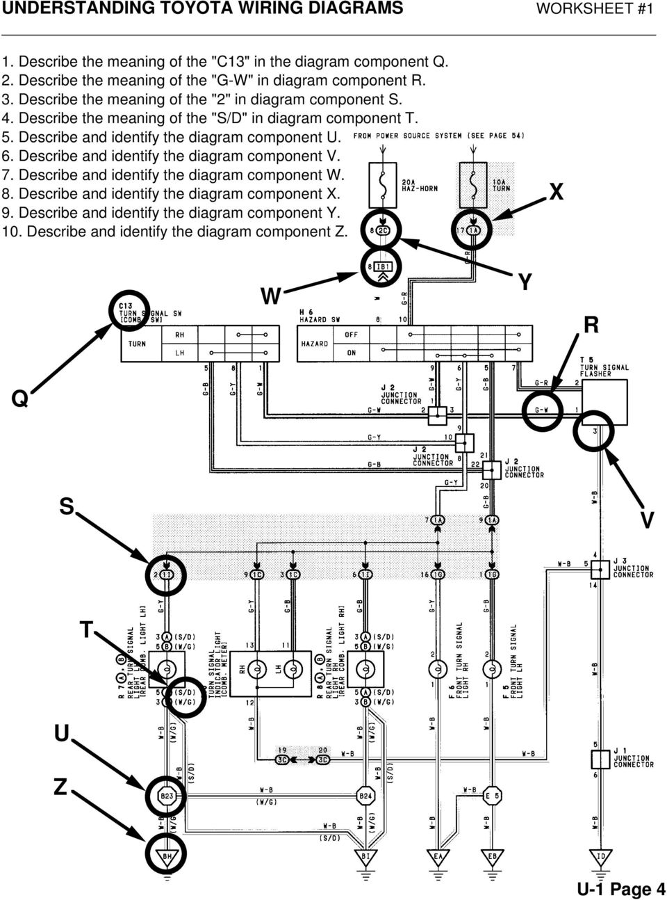 hight resolution of describe the meaning of the s d in diagram component t 5 7 understanding toyota wiring diagrams worksheet