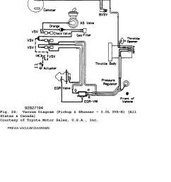 1992 engine performance toyota vacuum diagrams camry 92 toyota pickup 22re vacuum diagram 1992 toyota pickup [ 960 x 1087 Pixel ]