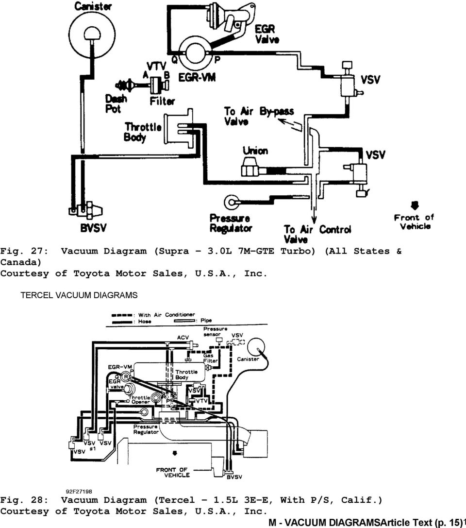 medium resolution of 1992 engine performance toyota vacuum diagrams camry 1993 toyota land cruiser engine 1992 toyota land cruiser