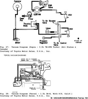 [DIAGRAM] 1995 Toyota Tercel Egr Diagram FULL Version HD