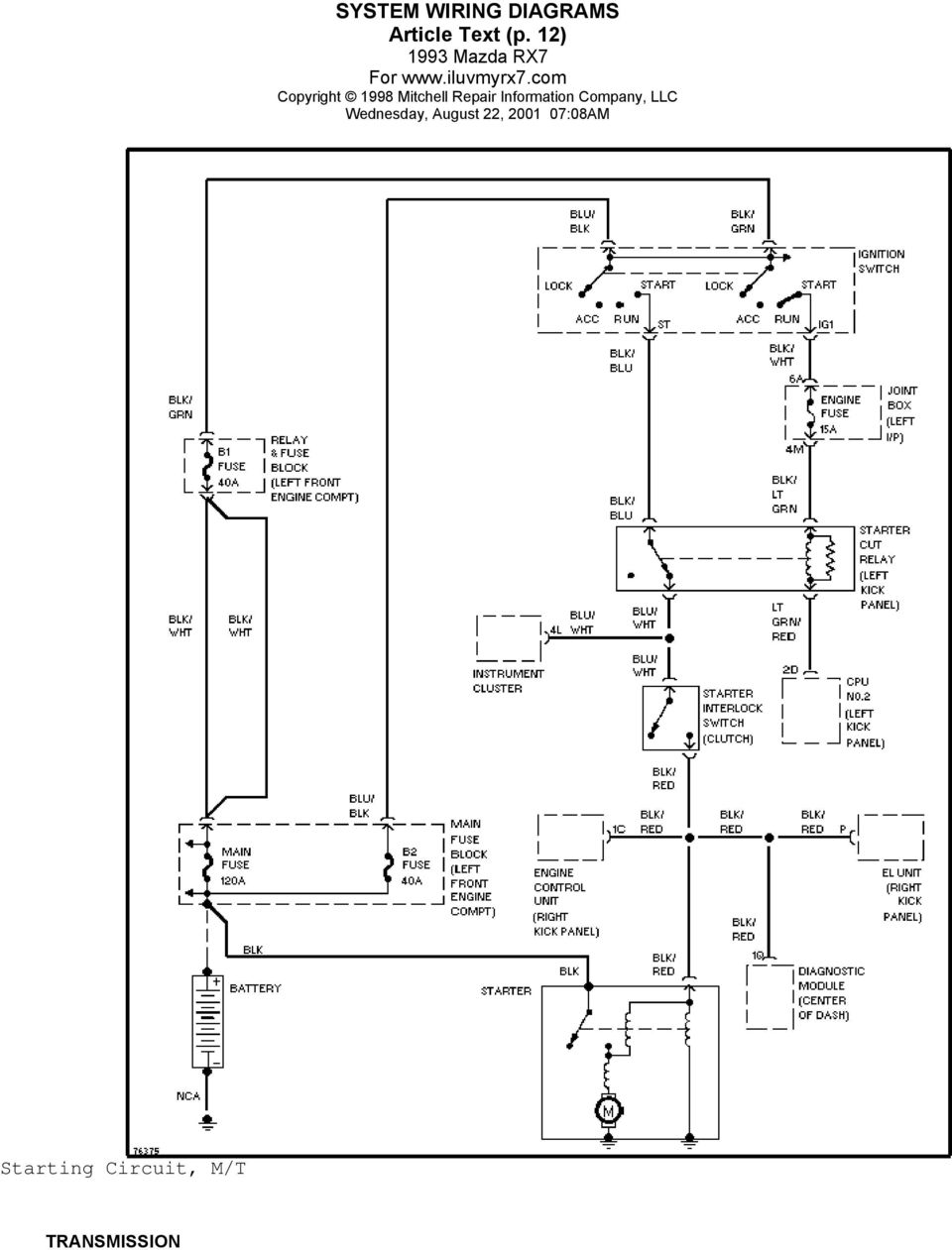 medium resolution of 14 system wiring diagrams article text p 13 transmission circuit wiper washer