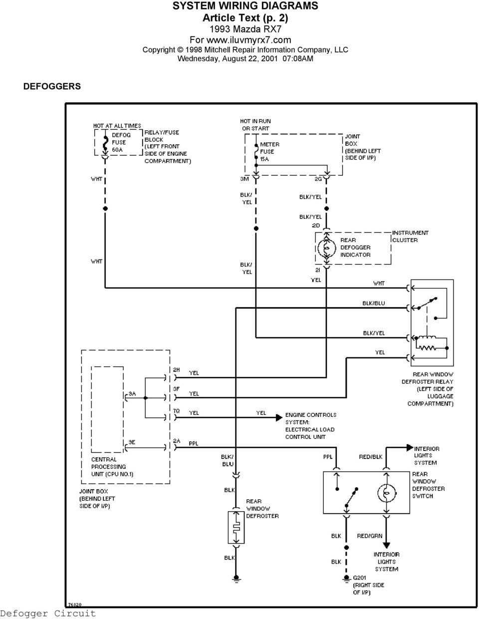 medium resolution of 4 system wiring diagrams article text p 3 horn horn circuit power antenna