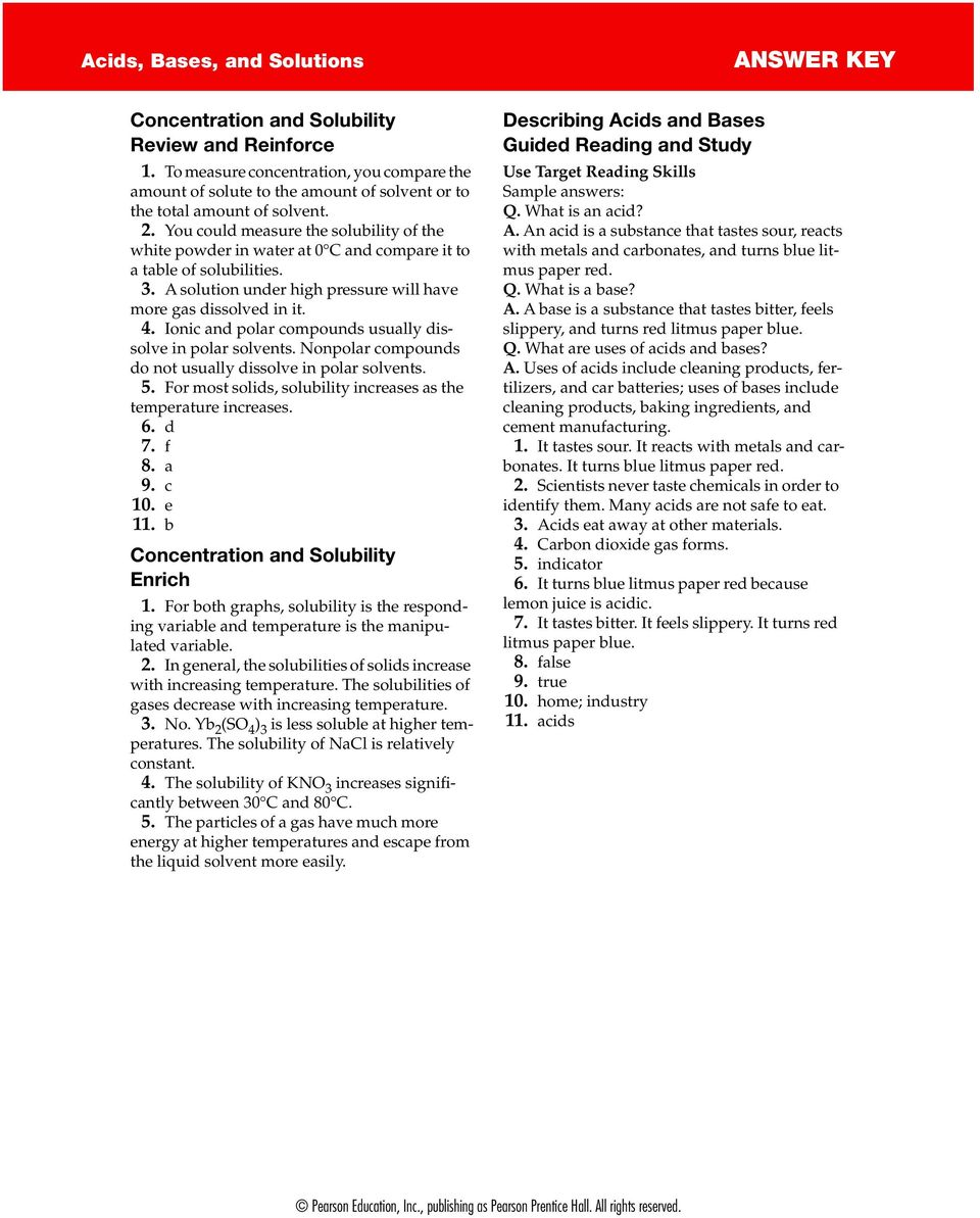 medium resolution of Substances Mixtures And Solubility Worksheet Answers - Nidecmege