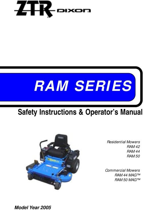 small resolution of ram 42 ram 44 ram 50 commercial