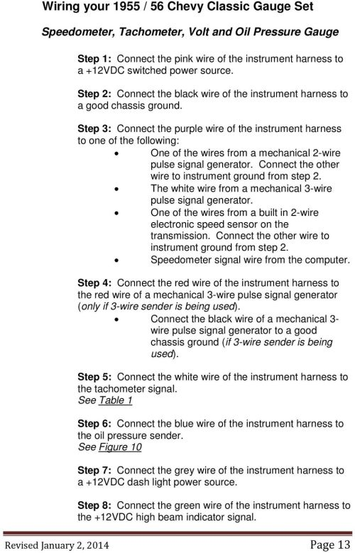 small resolution of step 3 connect the purple wire of the instrument harness to one of the following