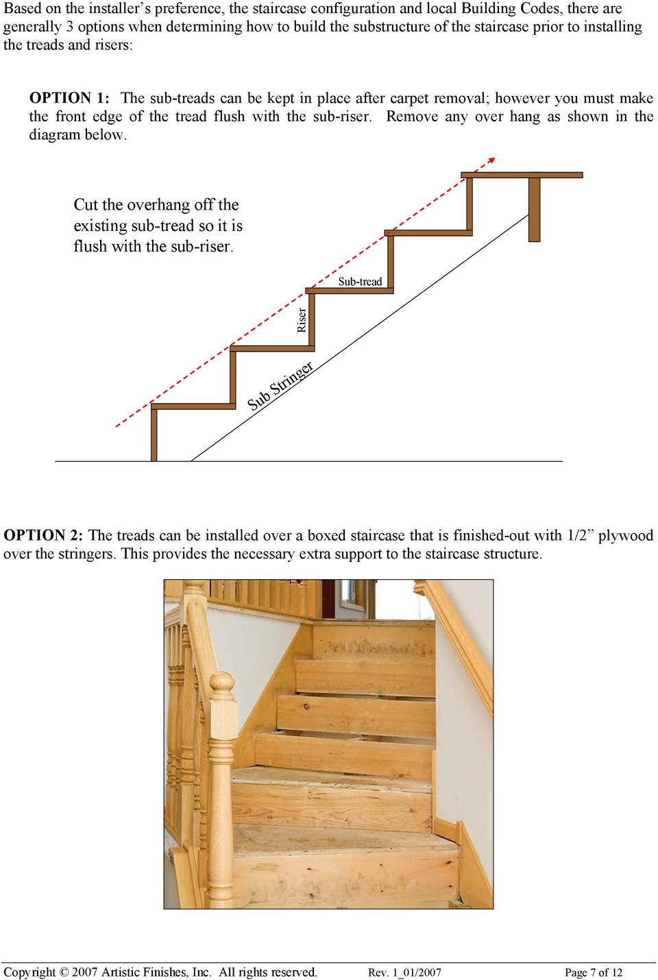 How To Install Treads And Risers On Stringers