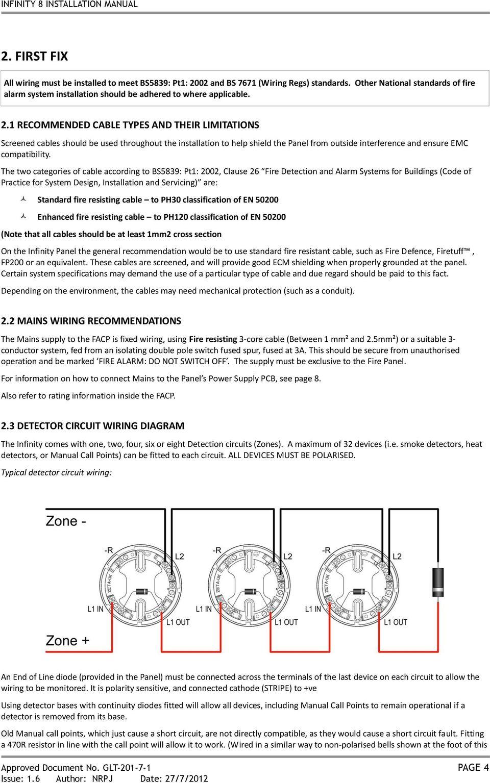 medium resolution of infinity 8 installation manual fire alarm control panel installation figure 719 typical fire alarm system schematic diagram