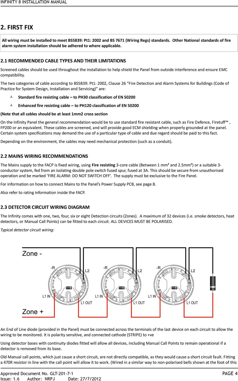 hight resolution of 1 recommended cable types and their limitations screened cables should be used throughout the installation to