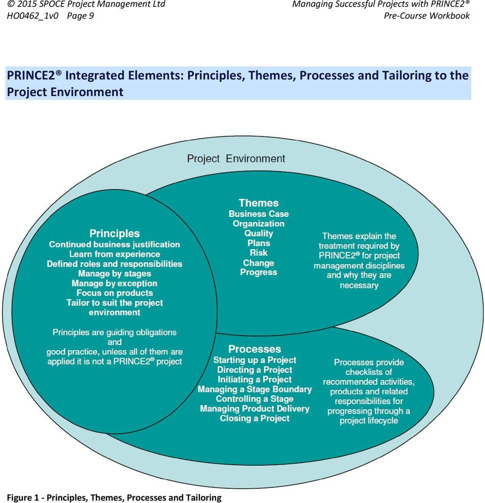 hight resolution of and tailoring to the project environment