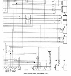 7 key to motronic engine control system wiring diagram picture 1 1 1 2 1 electronic control unit ecu 18 distributor 2 speed control relay 19  [ 960 x 1385 Pixel ]