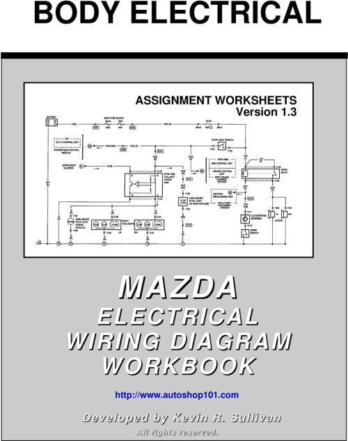 small resolution of body electrical mazda pdf 3 mazda electrical wiring diagram workbook