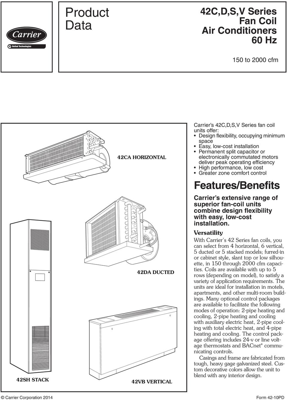 Carrier Fa4 Fan Coil Unit Thermostat Wiring Diagram For